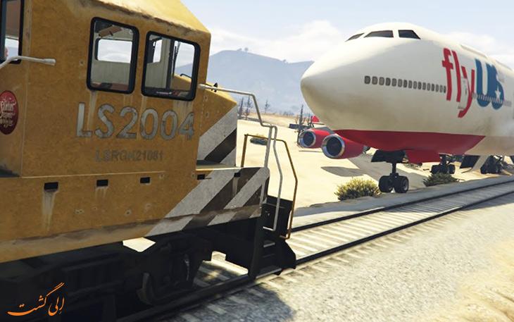 سفر با هواپیما یا قطار