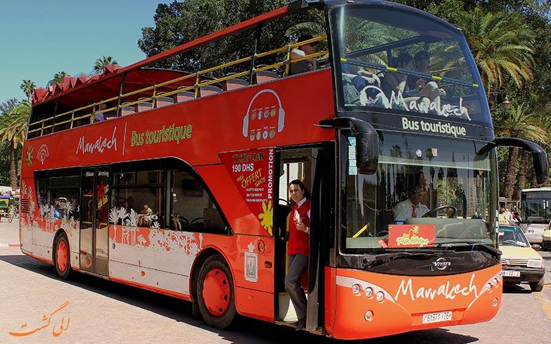 اتوبوس در مراکش