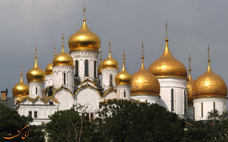 جاذبه های دیدنی شهری مسکو