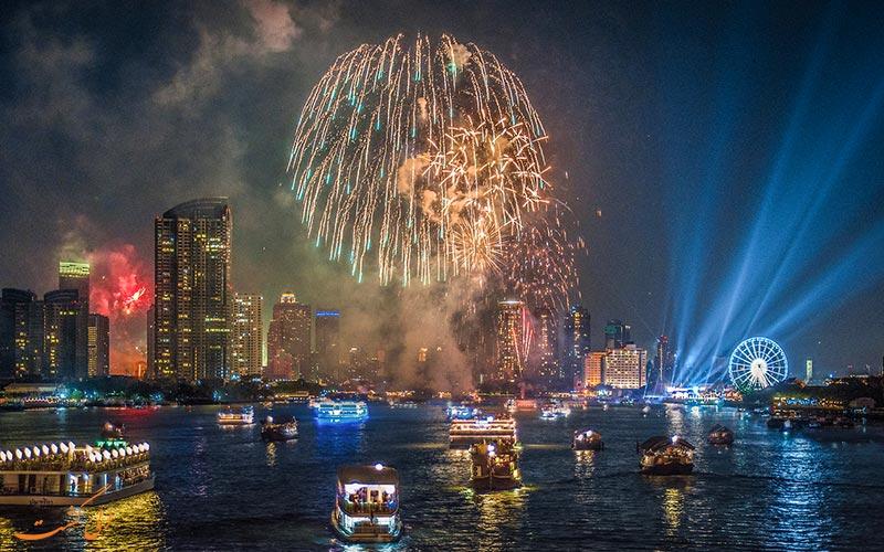 جشن سال نو در بانکوک