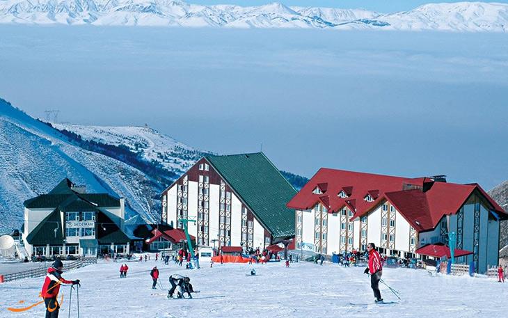 کوه های پالان دوکن، جاذبه های گردشگری ارزروم ترکیه