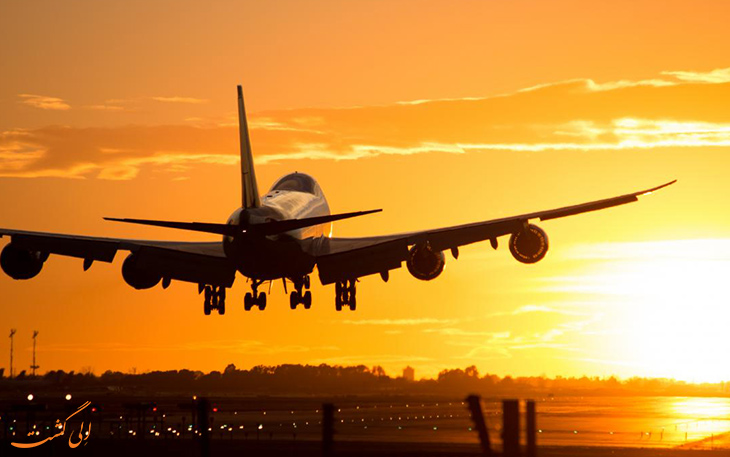 پرواز به غرب یا شرق