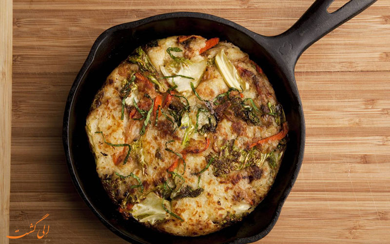 غذای Bubble and Squeak
