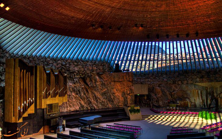 کلیسای صخره ای