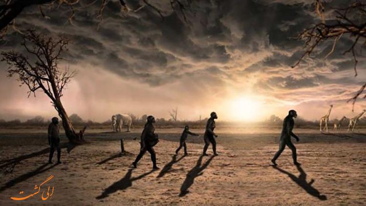 کشف رد پای قدیمی ترین انسان نمای جهان