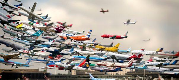 تماشای ترافیک هوایی زنده