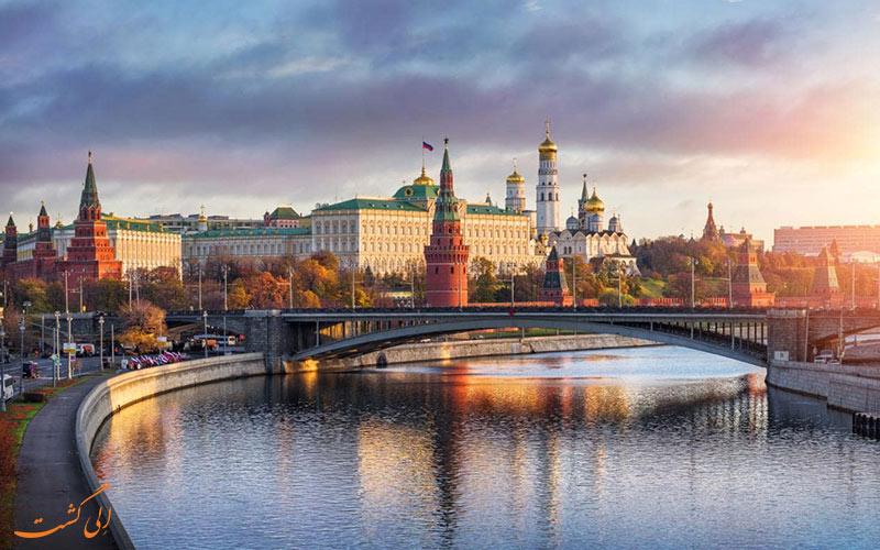 هزینه های سفر به روسیه
