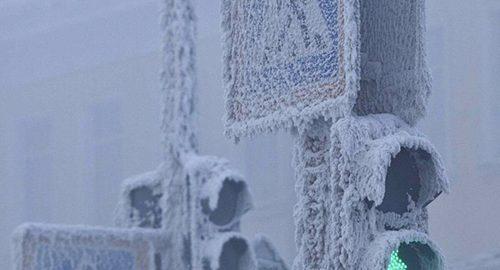 سردی هوا در روسیه