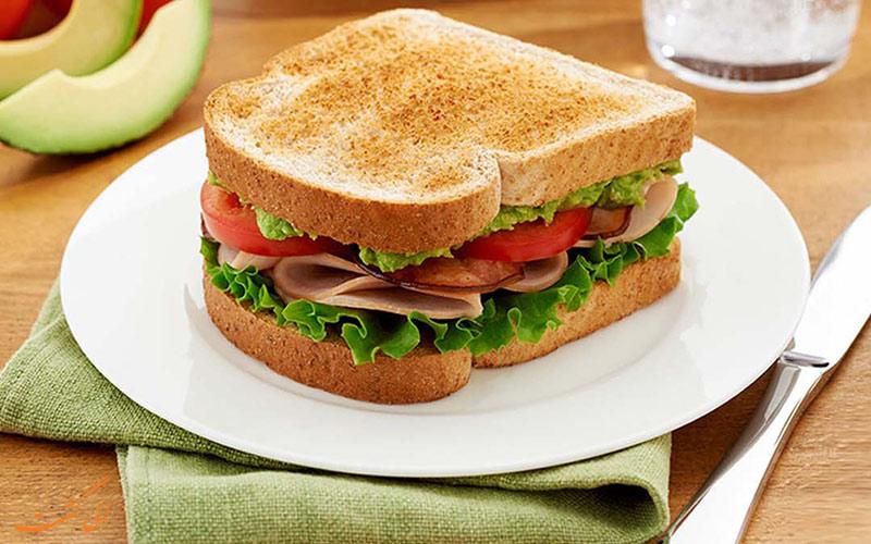 ساندویچ های محبوب دنیا
