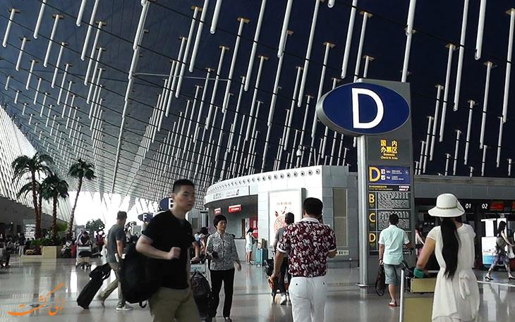فرودگاه پودنگ چین