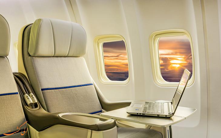 3 تفاوت پرواز فرست کلاس و بیزنس کلاس