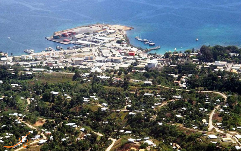 نمایی از جزایر سلیمان