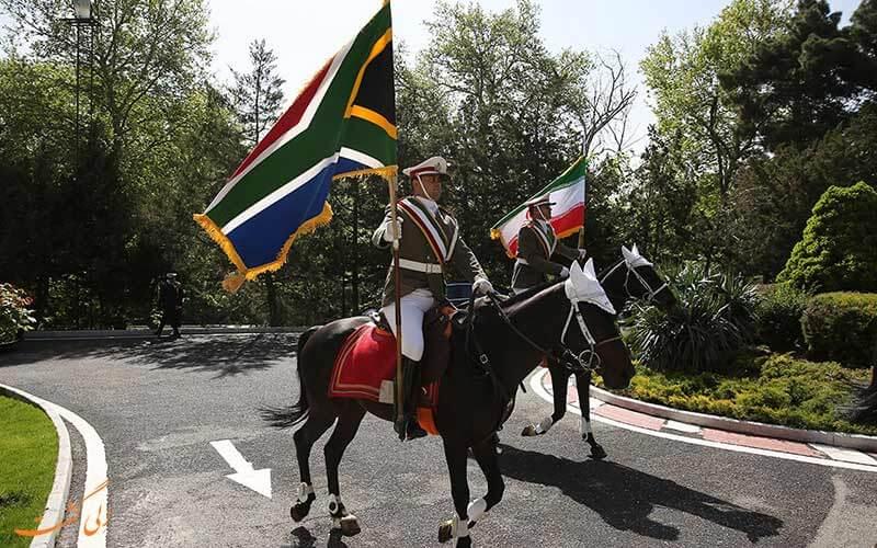 پلیس سواره آفریقای جنوبی