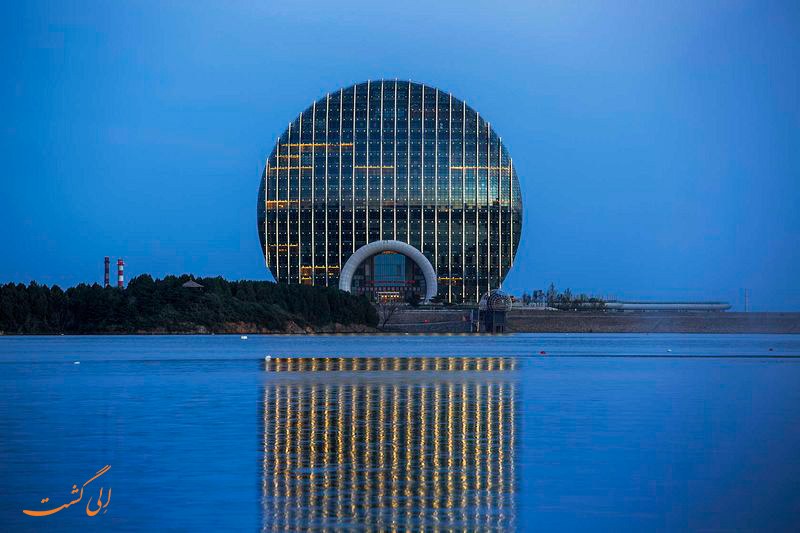 ساختمان های دایره ای شکل در پکن