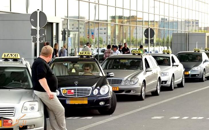 تاکسی در شهر لوکزامبورگ