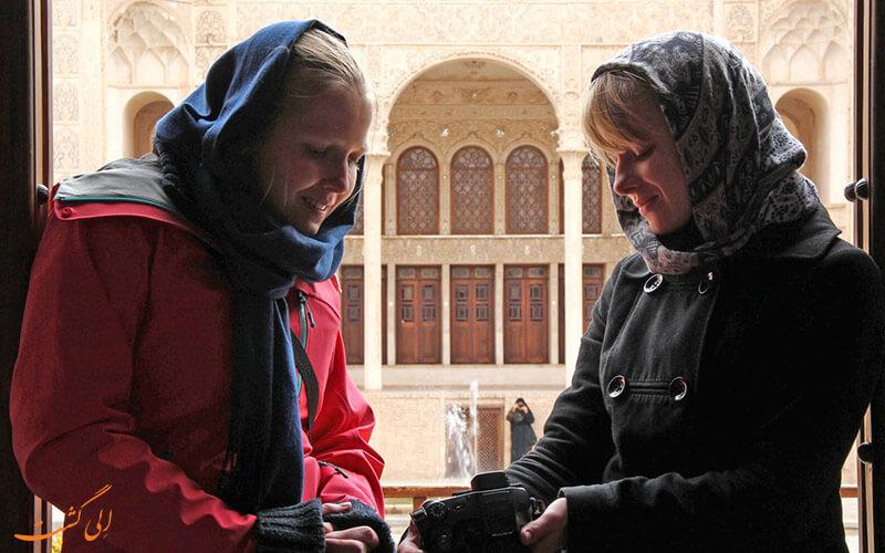 توریست ها در ایران