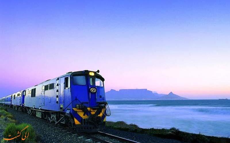 قطار آبی در آ،ریقای جنوبی