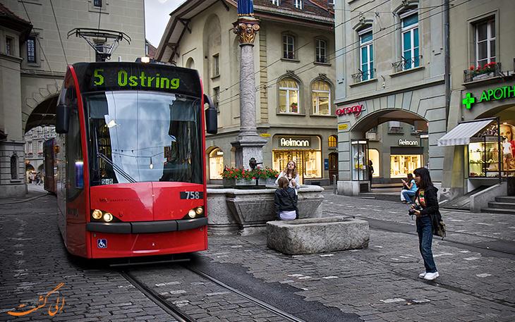 حمل و نقل در شهر برن
