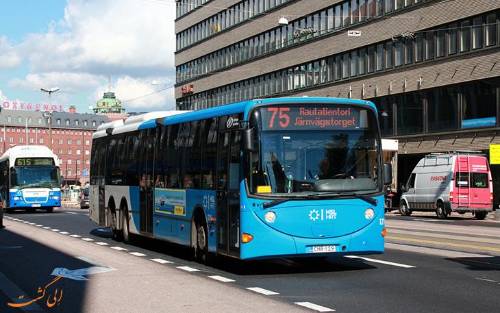 حمل و نقل در فنلاند