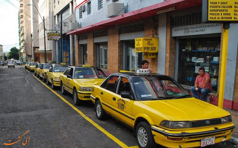 حمل و نقل در پاراگوئه