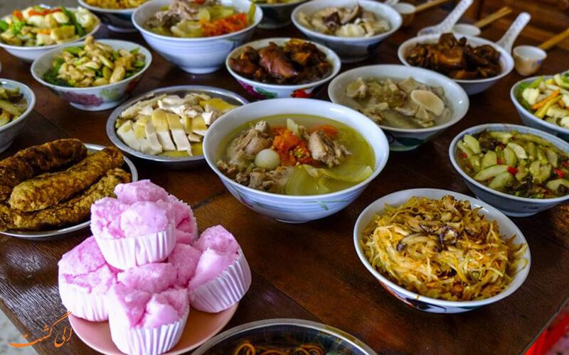 غذاهای خیابانی چینی