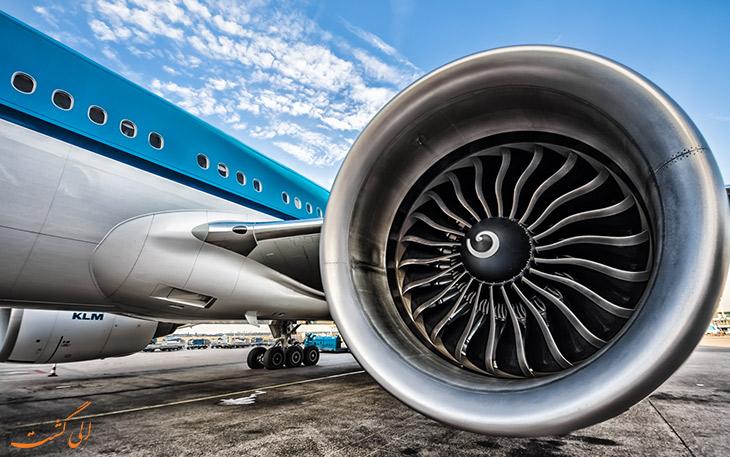 تمیز کردن موتور بعد از پروازهای طولانی مدت
