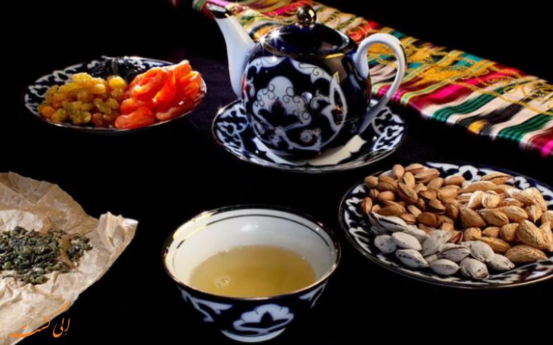 چای ازبکی