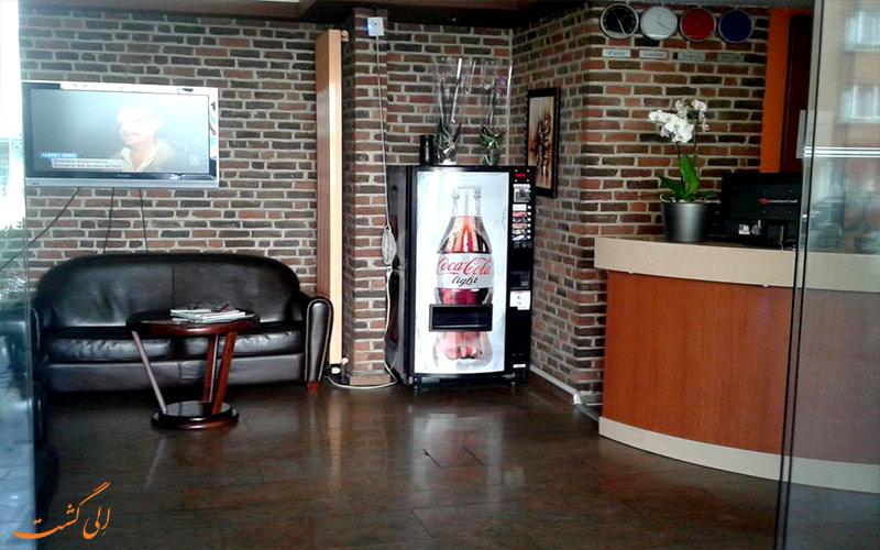 هتل آروس باجت بروکسل Ares Budget Hotel