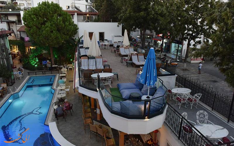 هتل ایستنکوی بدروم   استخر