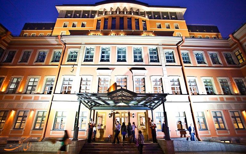 نمای هتل ودنسکی سنت پترزبورگ