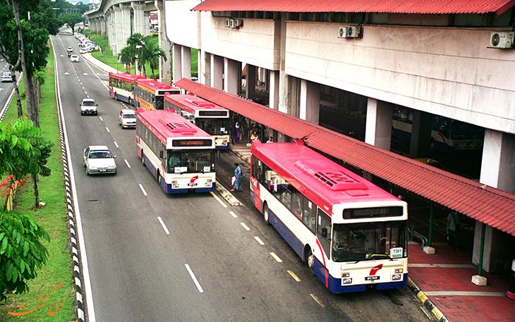 هزینه حمل و نقل در شهر کوالالامپور