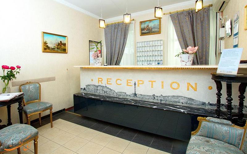 هتل نوسکی استر سنت پترزبورگ | پذیرش