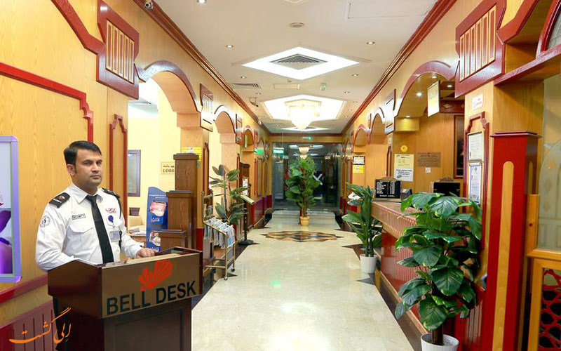 هتل صدف دبی | لابی