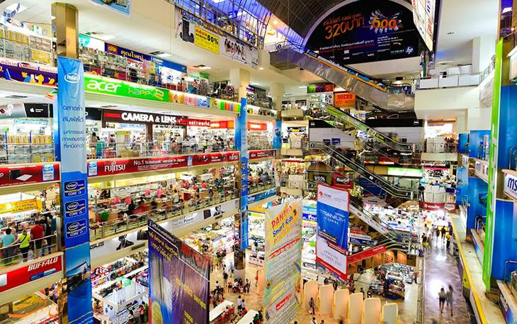مراکز خرید در کشور تایلند