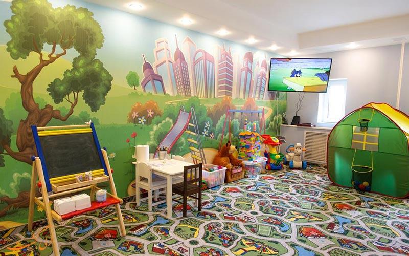 هتل ودنسکی سنت پترزبورگ | اتاق بازی