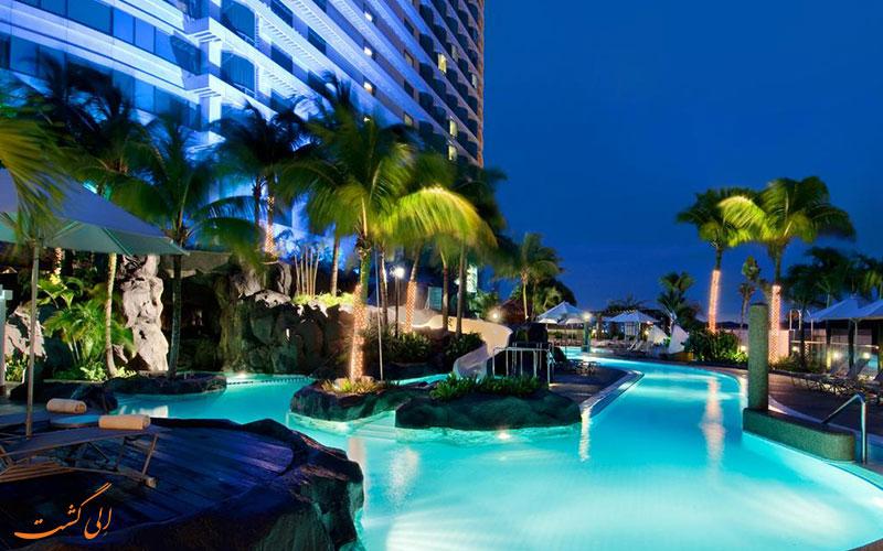هتل هیلتون کوالالامپور | استخر