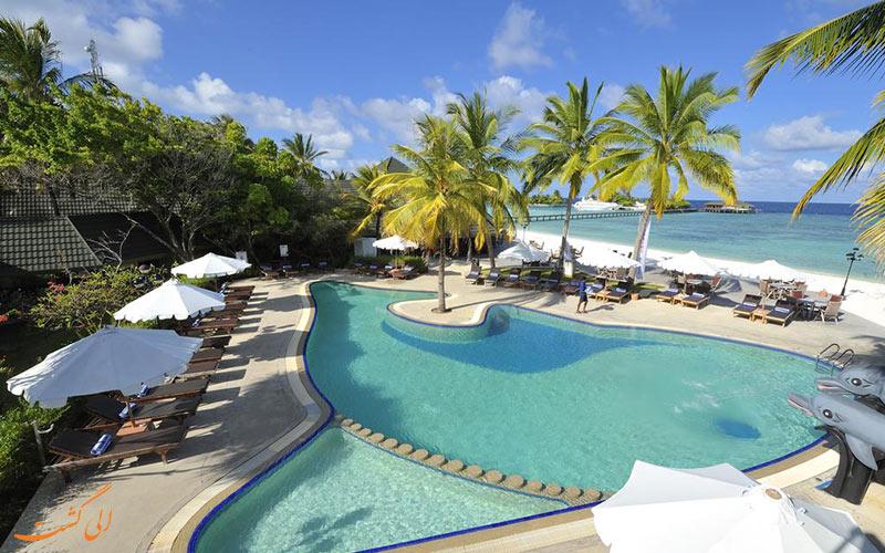 هتل پارادایس آیلند ریزورت مالدیو   استخر