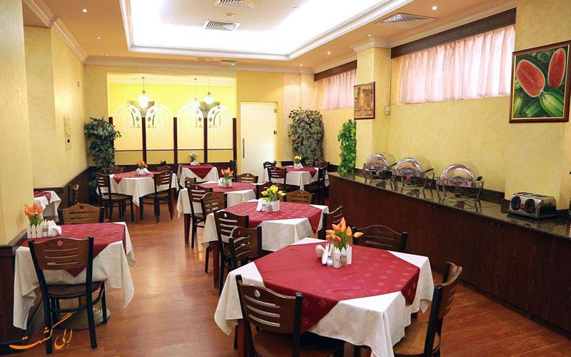 هتل صدف دبی | رستوران