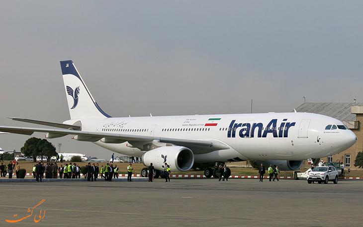بار مجاز ایران ایر