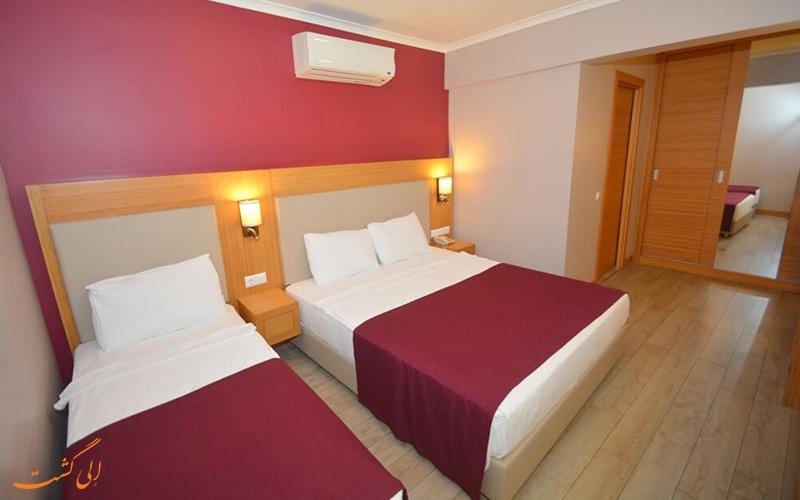 هتل ایستنکوی بدروم   نمونه اتاق 1