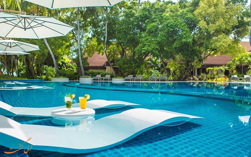 هتل کرومبا مالدیو | استخر