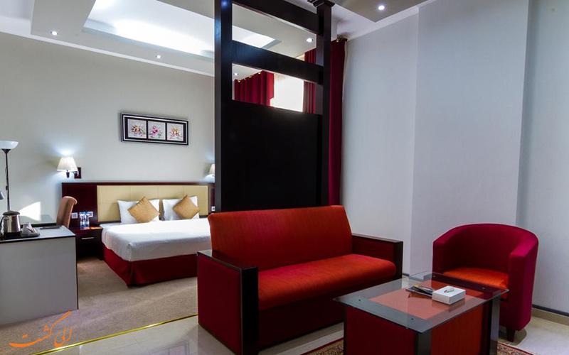 هتل رینبو دبی | نمونه اتاق 1