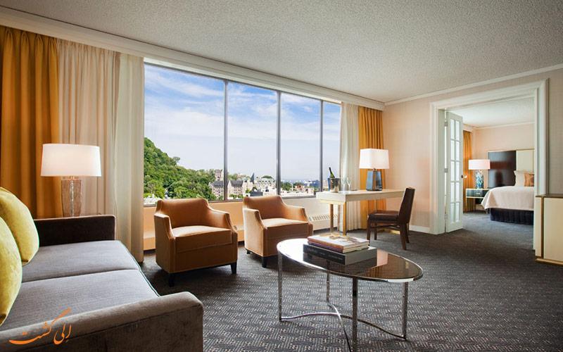 هتل اومنی مونت رویال مونترال | نمونه اتاق
