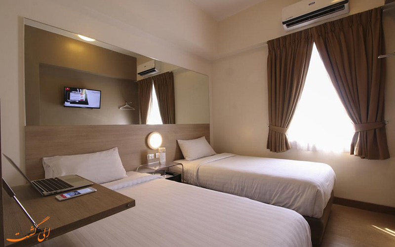 هتل رد پلنت اورتیگاس مانیل | اتاق تویین