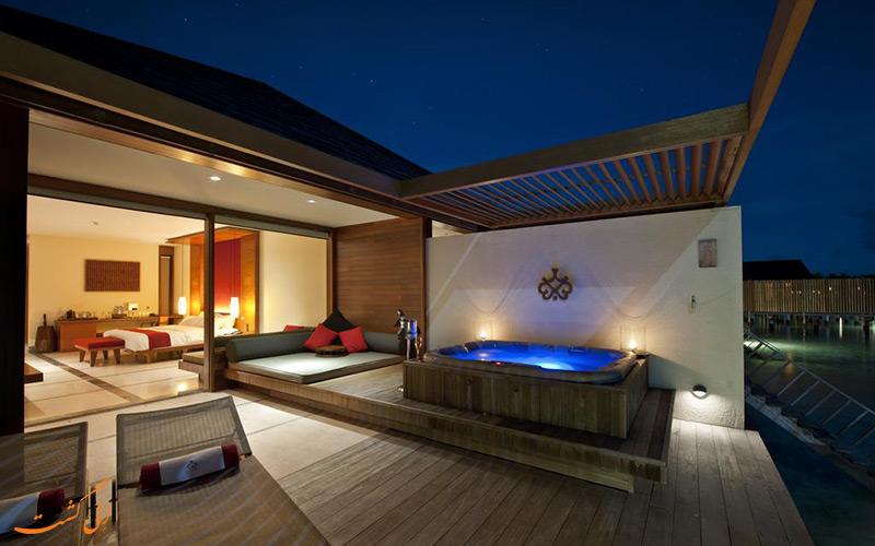 هتل پارادایس آیلند ریزورت مالدیو   اتاق