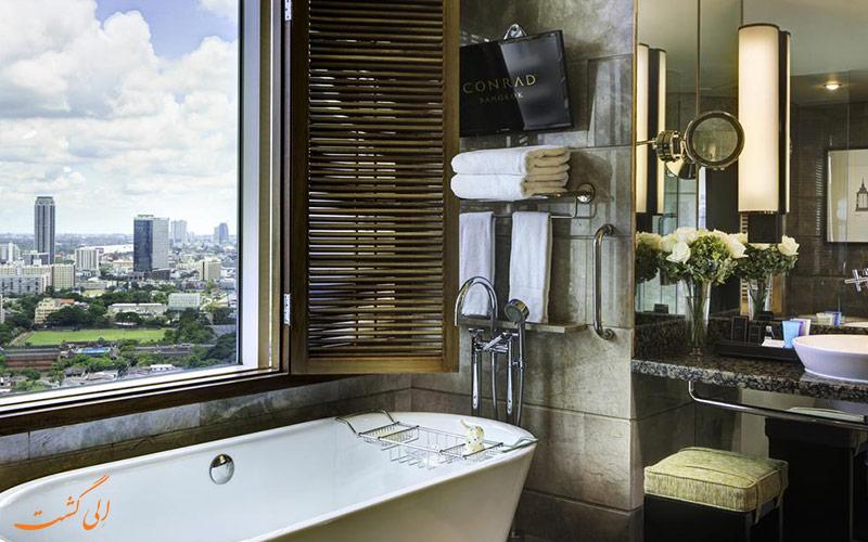هتل کنراد بانکوک | سرویس حمام