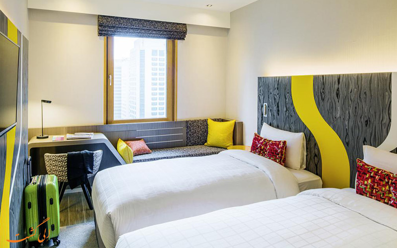 هتل ایبیس امبسدر گانگنام سئول | رستوران | اتاق