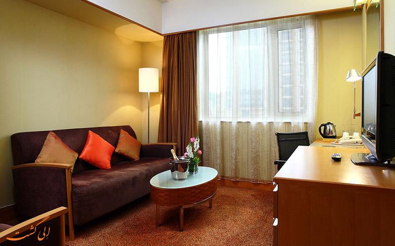 هتل نووتل پیس پکن | بخش نشیمن اتاق