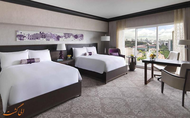 هتل فرمونت سنگاپور | نمونه اتاق 2