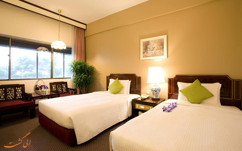 هتل گرند پاسیفیک سنگاپور | نمونه اتاق